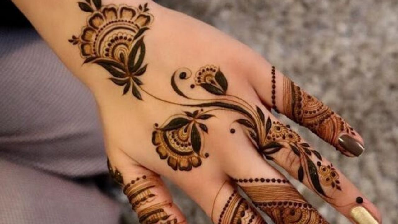 Latest Arabic Mehndi Designs Tutorial for Beginners