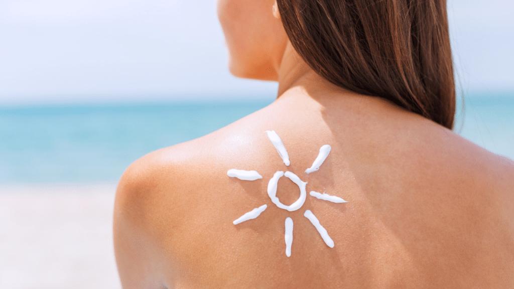 Apply sunscreen regularly