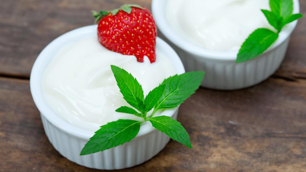 Yogurt for sun burn