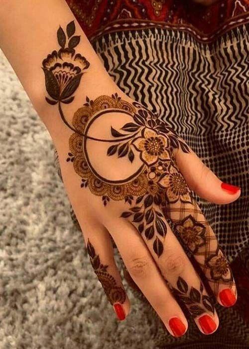 Simple Mehndi Design 29 Easy Beautiful Mehndi Designs Beautiful You