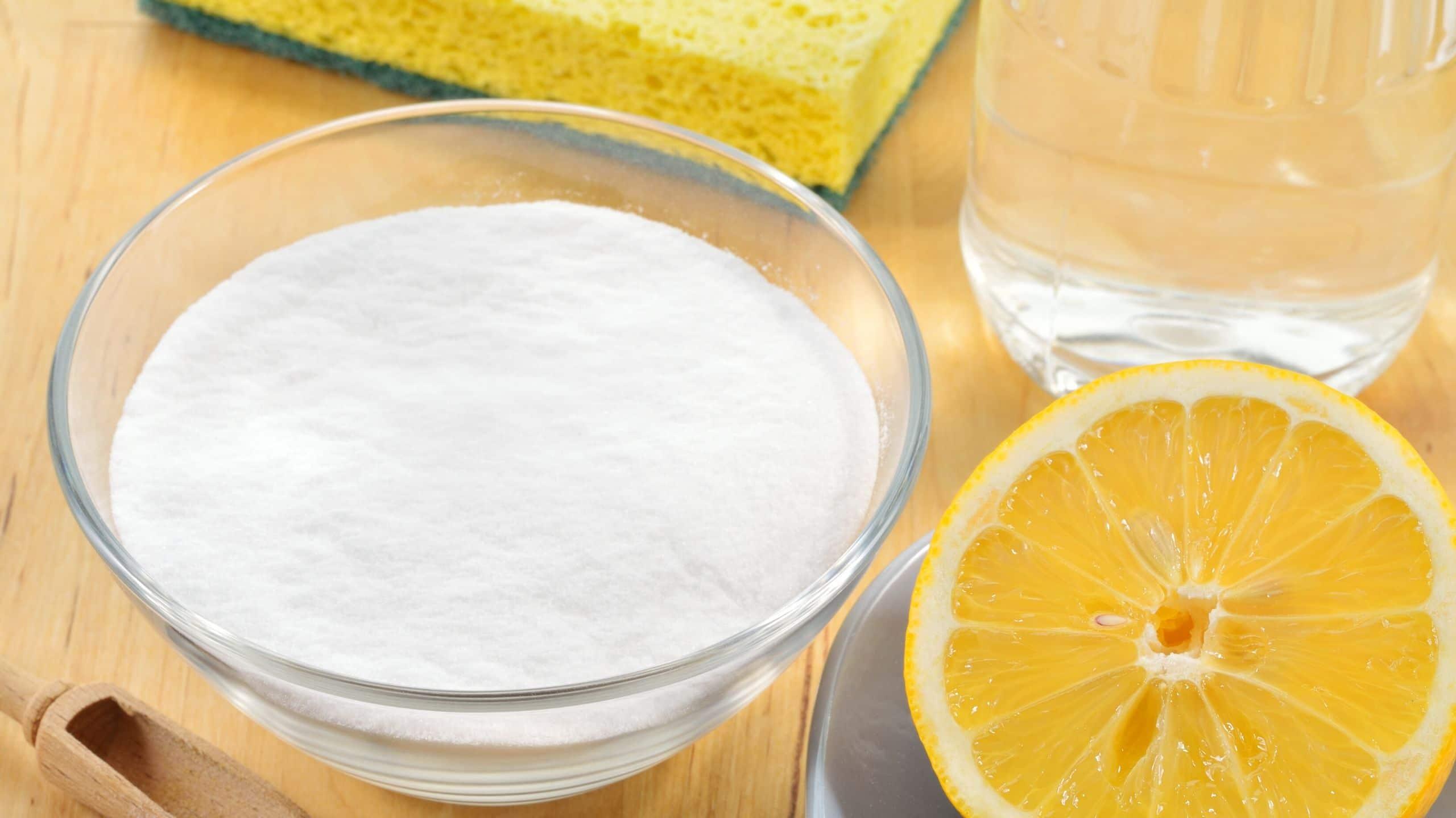 Lemon and Baking Soda For Health, Skin, and Hair