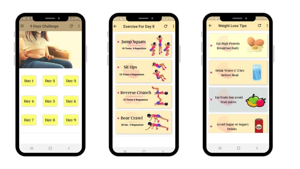Weight Loss Challenge App