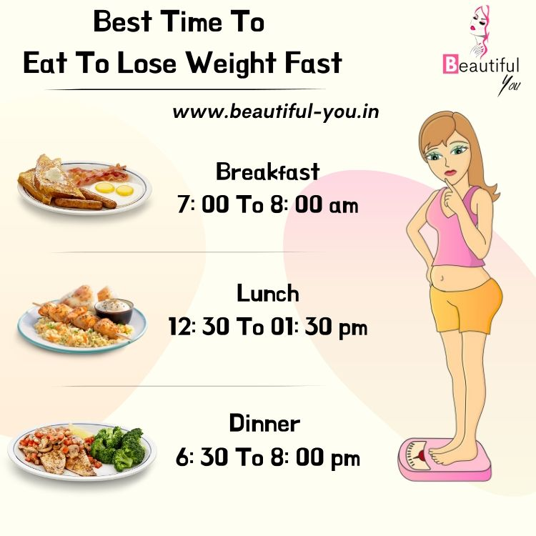 best time to eat to lose weight