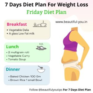 7 days Diet Plan, Day 5