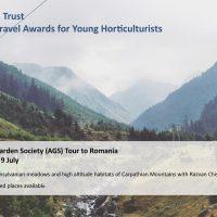 Alpine Garden Society Tours to Romania in 2017