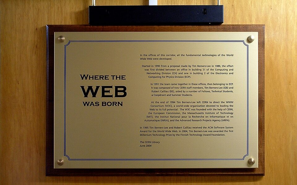 The DiffractedWord ! Technology ! Where the Web was born