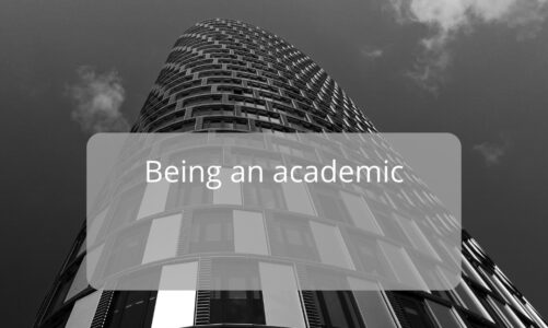 What is it Like… To be an Academic Researcher