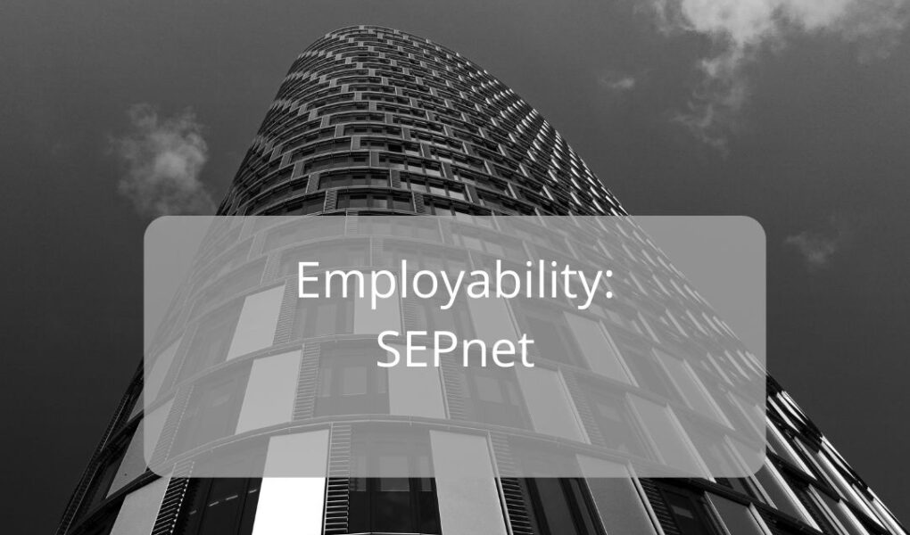 The Diffracted Word Career the SEPnet network