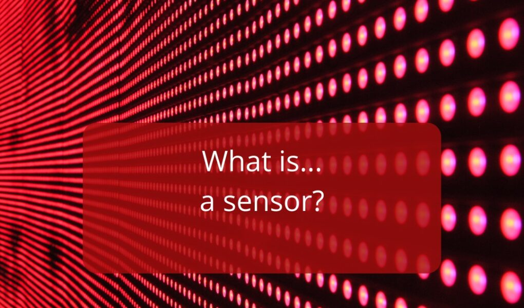The Diffracted Word Technology What is a Sensor