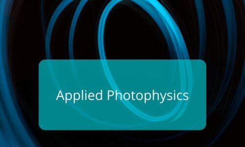 Applied Photophysics