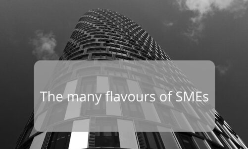 Working in a SME, yes but… which kind?