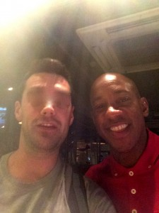Ted and Dion Dublin