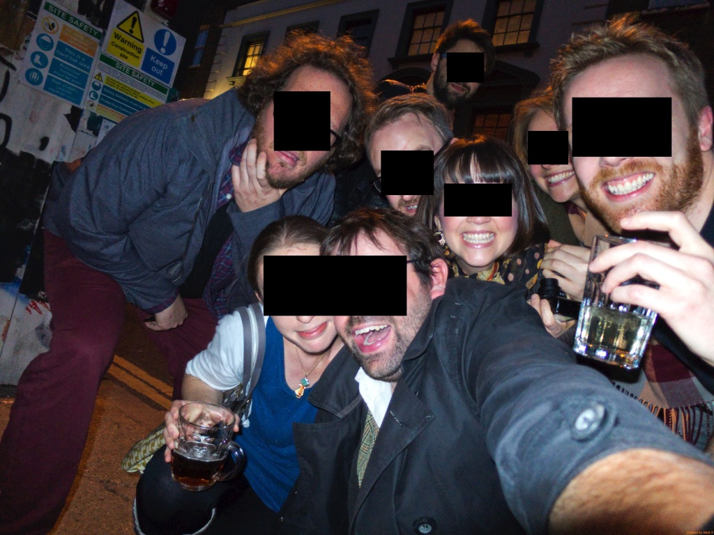 East London line pub crawl - 69 anon