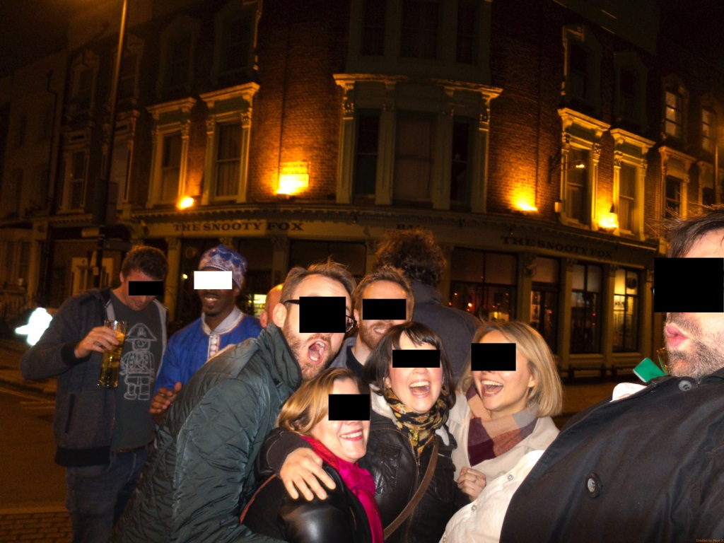 East London line pub crawl - 75 anon