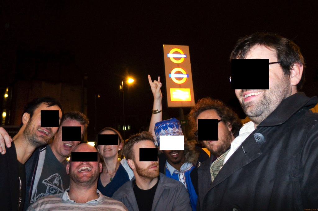 East London line pub crawl - 79 anon