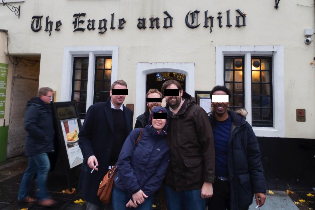 The Eagle & Child, Oxford