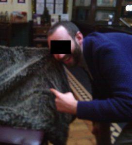 Nice rug: The Craven Cottaging manager