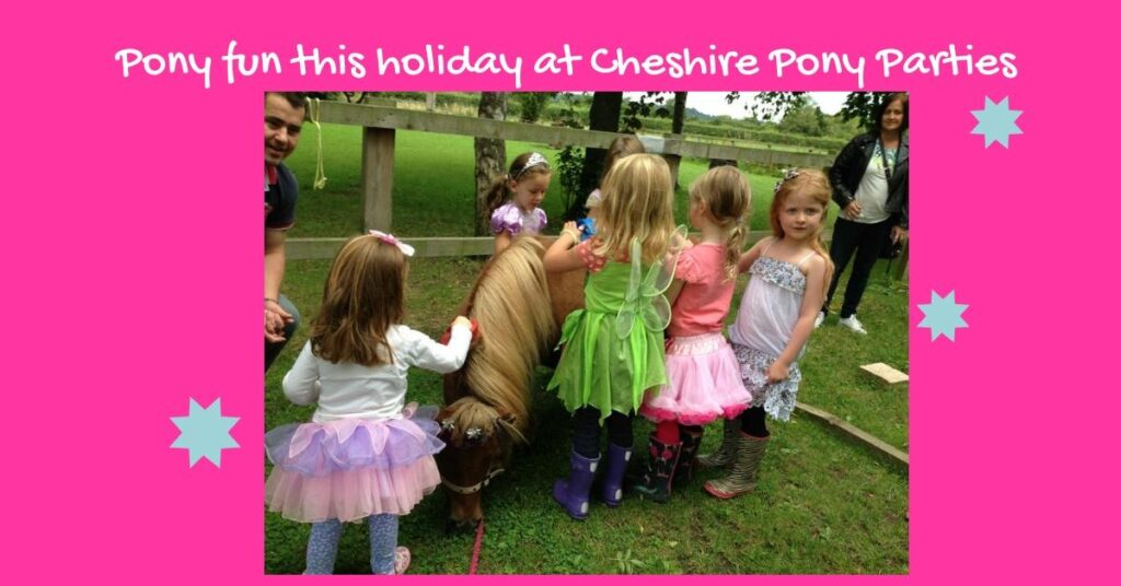 Pony afternoons at Cheshire Pony Parties