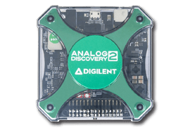 Analog Discovery 2 USB Multi-instruments for Circuit Design