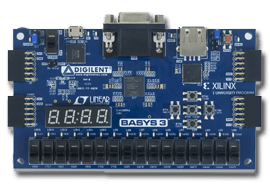 Basys 3 Artix A7 FPGA Trainer Board for Digital Design