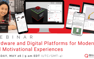 Webinar by Quanser: Hardware and Digital Platforms for Modern and Motivational Experiences