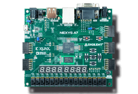Nexys A7-50T / Nexys A7-100T FPGA Trainer Board for Computer Architecture and Advanced Digital Design