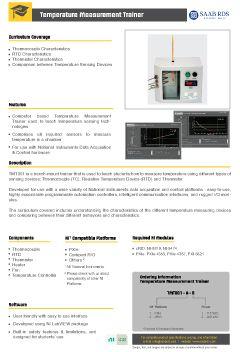 Engineering Teaching Trainers - Temperature Measurement Trainer