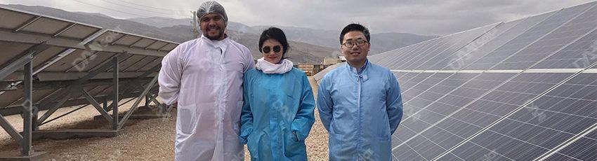 SAAB RDS - DAH Solar Energy Systems in Iran