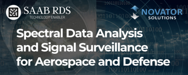 Spectral Data Analysis and Signal Surveillance for Aerospace and Defense - SAAB RDS