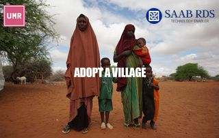 """UMR partners with SAAB RDS to launch holistic """"Adopt a Village Project (AVP)"""" in Wajir County, Kenya"""
