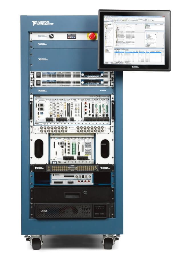 Automated Test Equipment - Rack