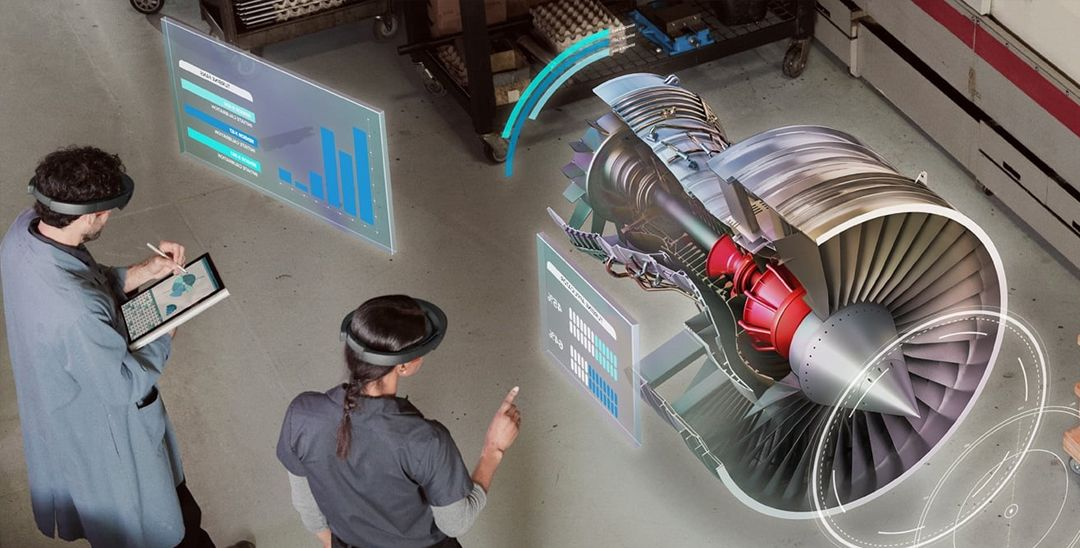 connected worker in aerospace