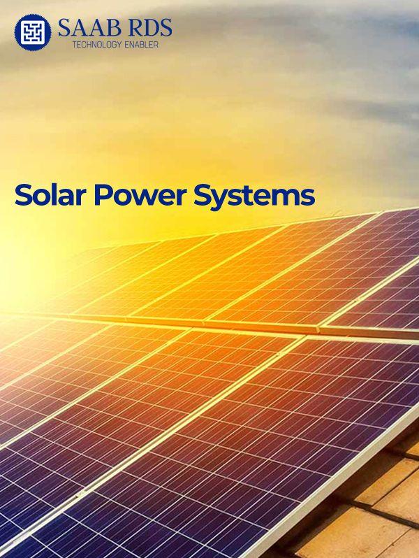 SAAB RDS Solar Power Systems