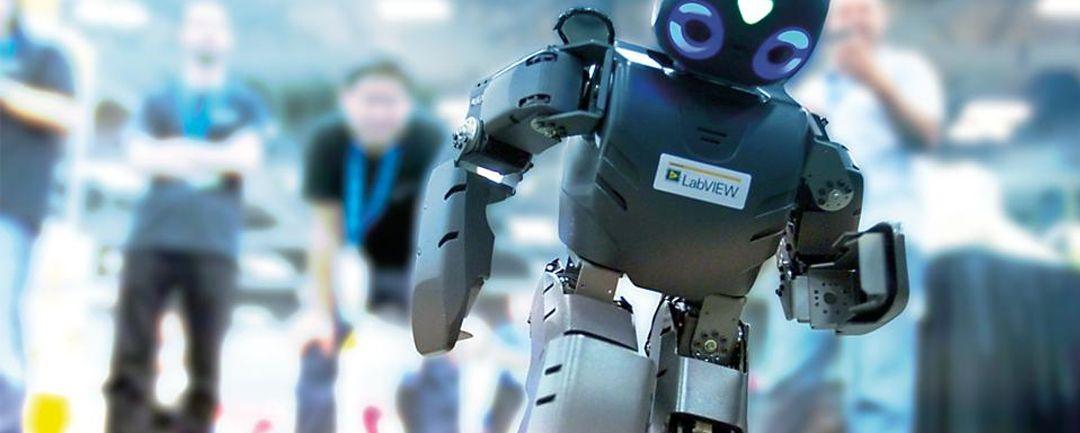 SAAB RDS Robotics National Instruments
