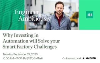 Live Broadcast: Why Investing in Automation will Solve your Smart Factory Challenges