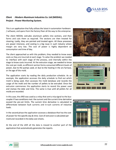 SAAB RDS systems integration case studies