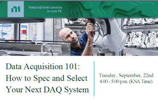 Webinar: Data Acquisition 101: How to Spec and Select Your Next DAQ System