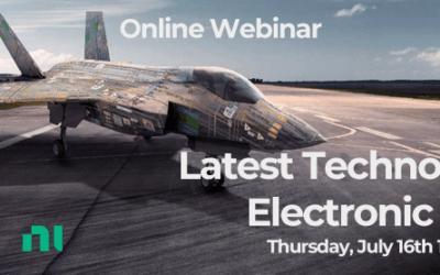 Webinar: Latest Technologies in Electronic Warfare with NI