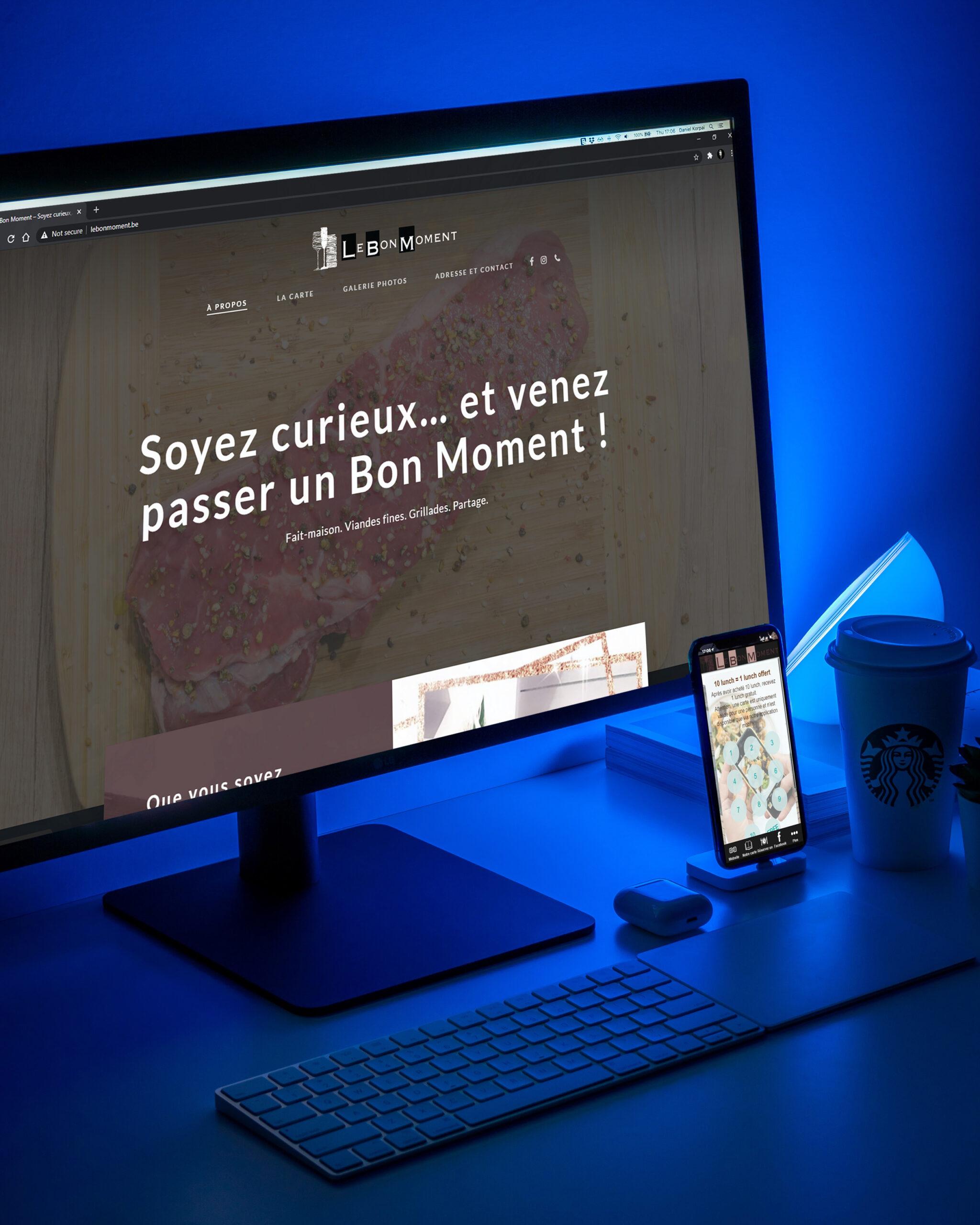 Le Bon moment, Restaurant