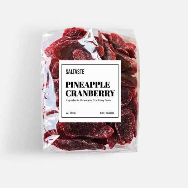 Saltaste Pineapple with Cranberry Juice