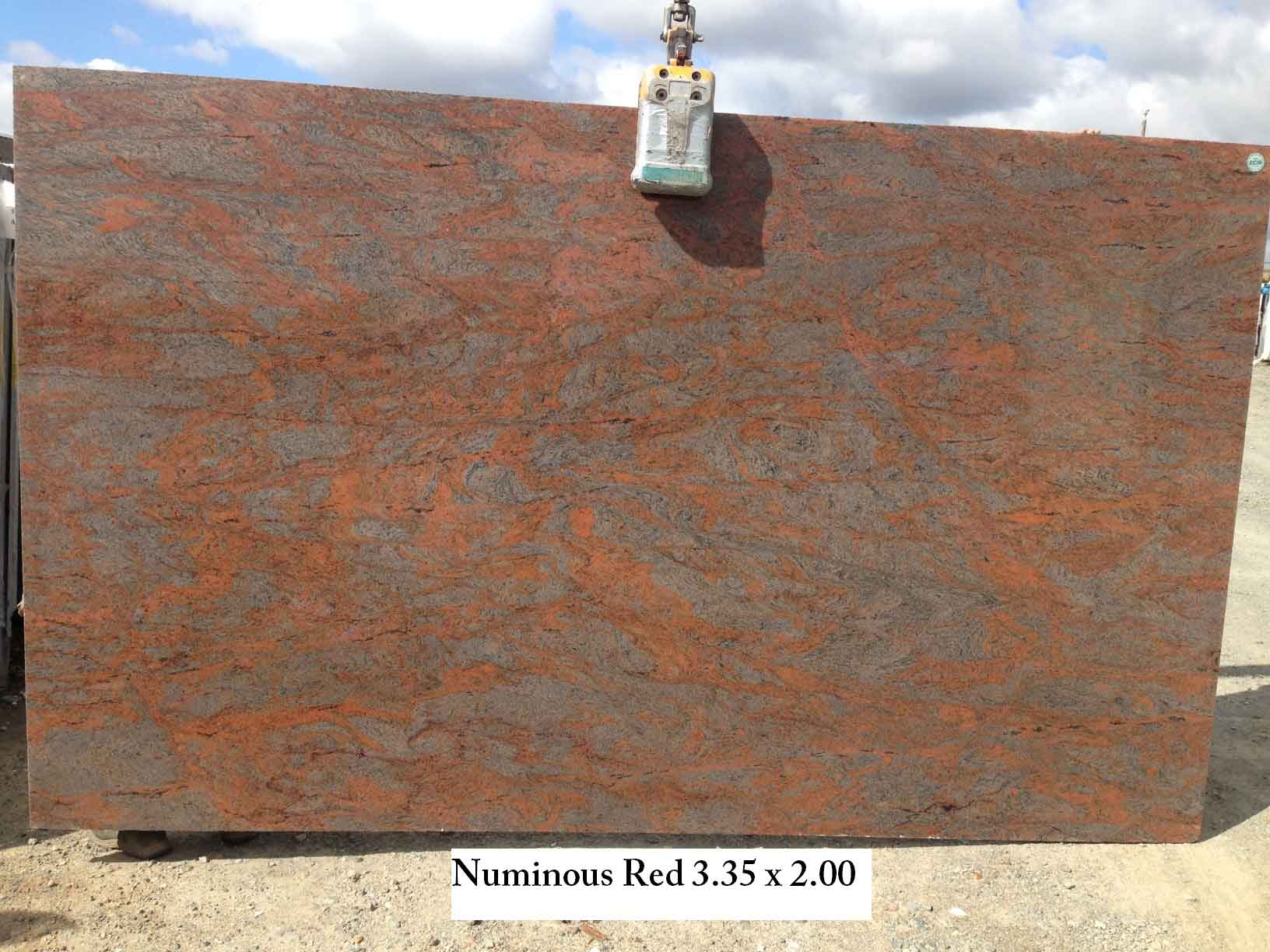 Numinous Red Granite