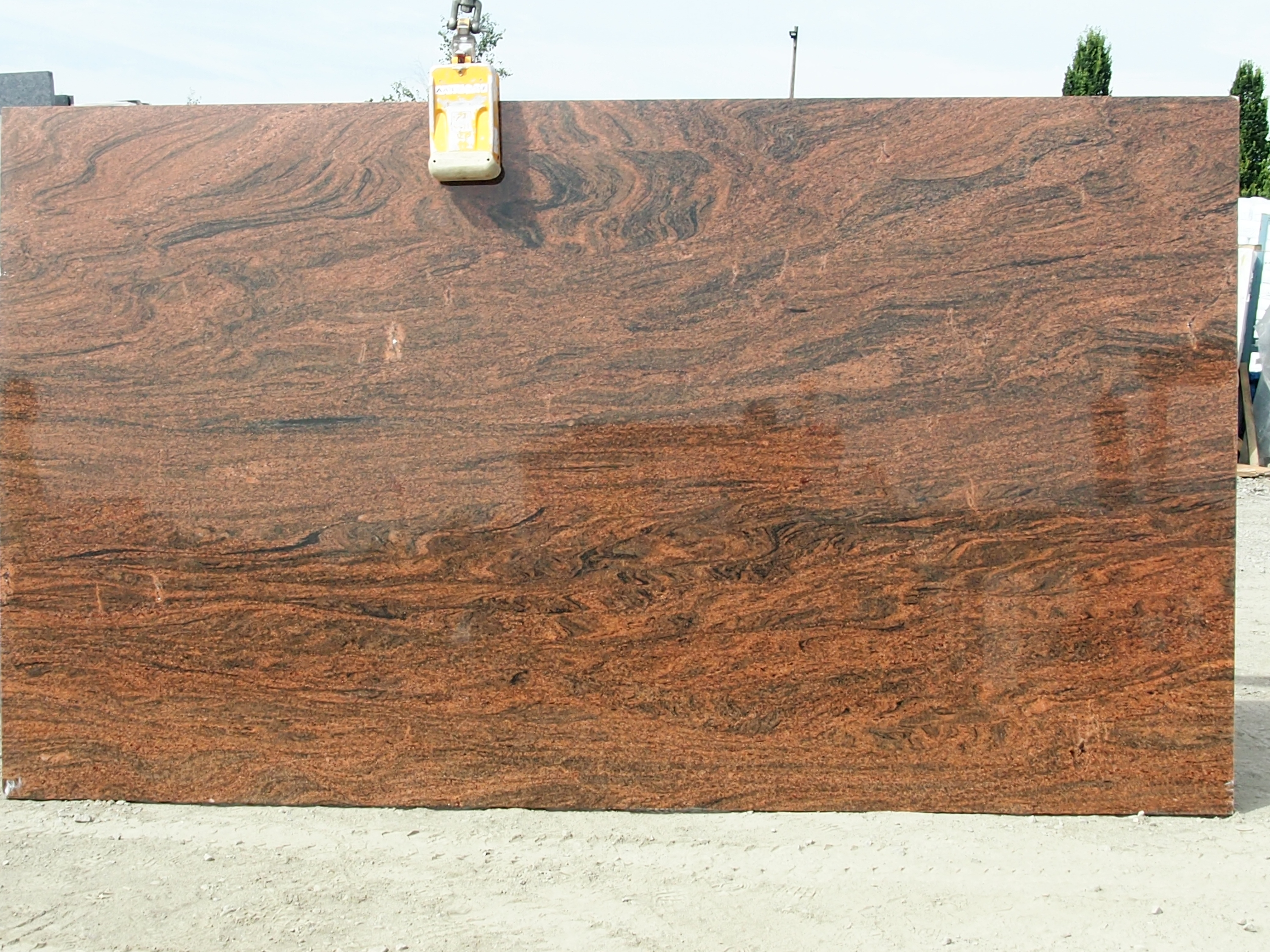 Red Multicolour Granite