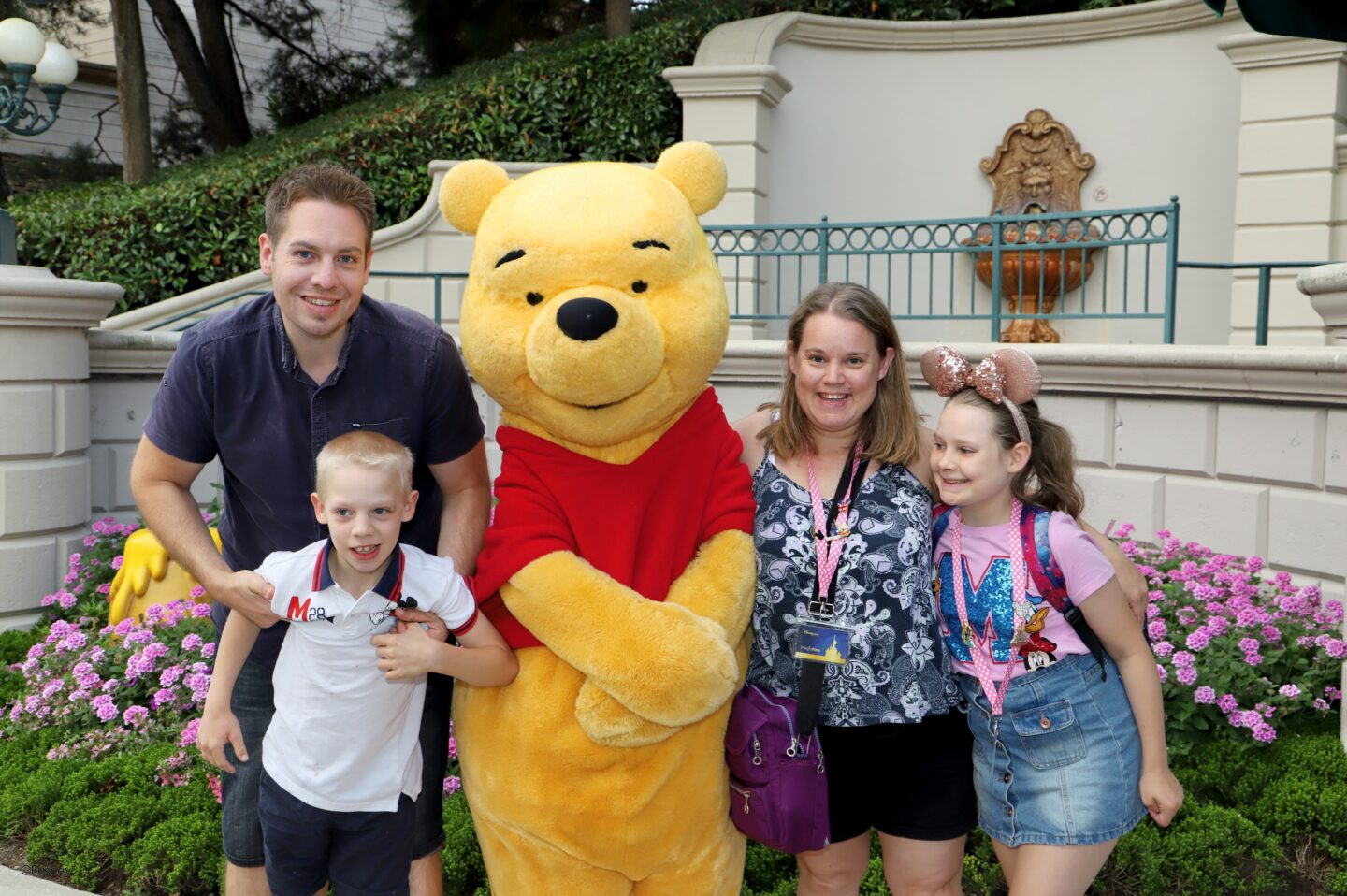 Winnie the Pooh and  family meet