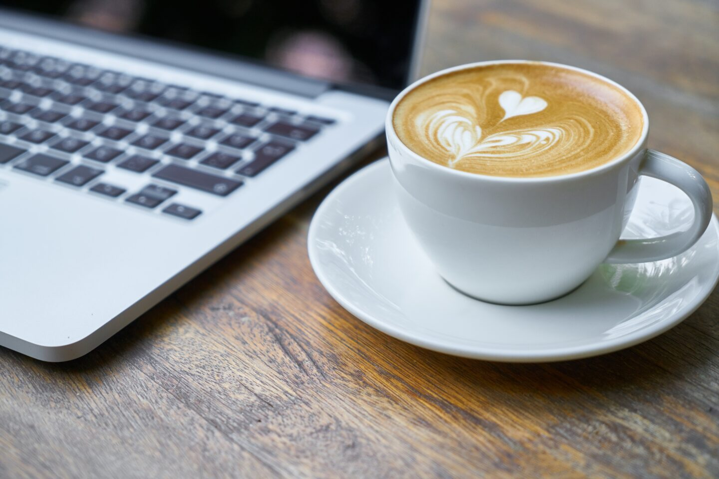 Coffee Cup and Laptop