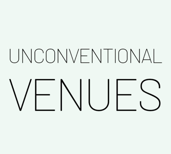 UNCONVENTIONAL-VENUES