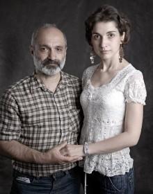 Данелян Грегор и дочь Заруи