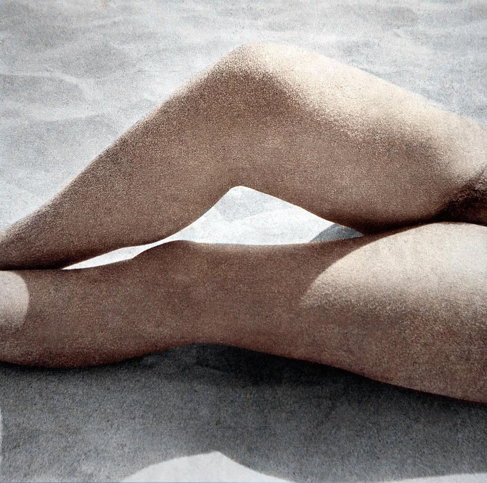 в дюнах