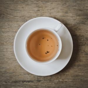 color y sabor del té blanco