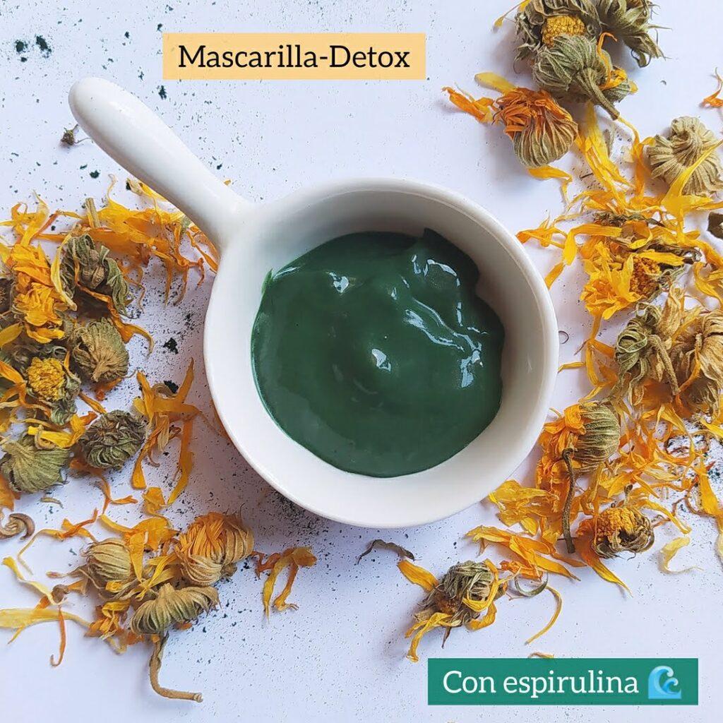 mascarilla detox