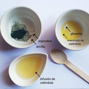 ingredientes mascarilla facial